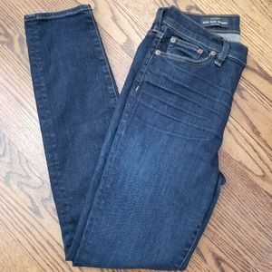 J Crew Lookout High Rise Jean Size 27 Resin Wash
